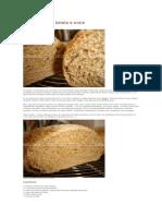 Pão Integral de Batata e Aveia