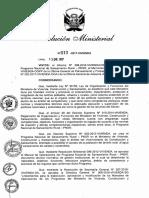 Resolucion Ministerial N° 013-2017-VIVIENDA