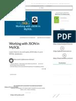 Working With JSON in MySQL _ Scotch