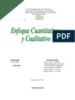 Enfoque Cualitativo y Cuantitativo PROFE