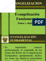 EVANGELIZACION FUNDAMENTAL.pps