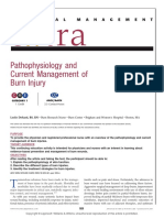 Pathophisiology and Manaj Burn Injury