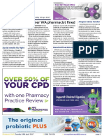 Pharmacy Daily for Tue 18 Apr 2017 - Former WA pharmacist fined, Flu vaccine now available, J