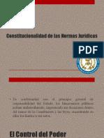 Constitucionalidad de Las Normas Jurídicas