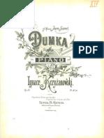 Ignacy Krzyzanowski – Dumka, Op.53.pdf