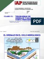 20032016 Clase 2 Drenaje en La Costa Peruana