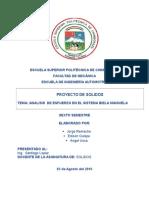 Informe Analisis de Esfuerzo Solidos