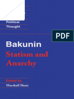 Mikhail Bakunin - Statism and Anarchy