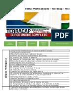 Edital Verticalizado Terracap Técnico Administrativo