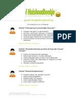 Brochure Budgetteringstraining Stichting Simpel Huishoudboekje