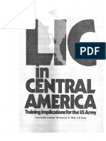 CBI en Centroamerica, Military Review