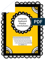4 Keyboard Worksheets Home Middle Bottom Rows