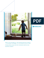 Barclays Report Entrepreneurship