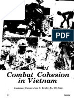 Cohesión de Combate en Vietnam, Military Review