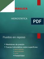 3. PRESION HIDROSTATICA