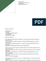 letter assignment janae brangman
