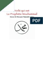 Voila Qui Est Le Prophète Muhammad (sws)