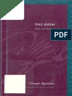 AGAMBEN, Giorgio - The Open. Man and Animal.pdf