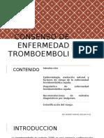 Consenso de Enfermedad Tromboembolica Aguda