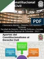 Presentación - Derecho Constitucional y Derecho Civil