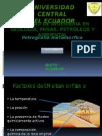 2 Factores Del Metamorfismo_alex Andrade