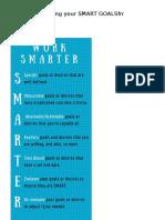 2017 Smarter Goals Setting Task