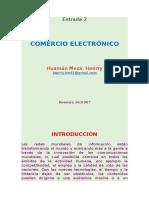 Comercio Electrónico - Entrada 2