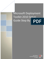 MDT 2010 Setup Step by Step