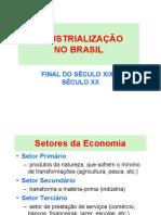 03. BRASIL - Industrialização.2017