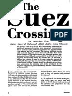 Cruzando El Canal de Suez, Military Review