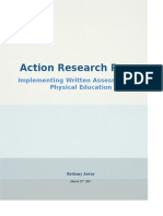 action research project 2017