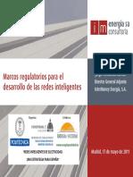 Marcos Regulatorios Para Desarrollo de Smart Grid