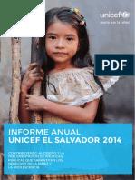 Informe Anual 2014web UNICEF
