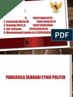 Pancasila Sebagai Etika Politik