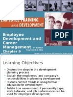 Employee Training and Development by Raymond A. Noe Chapter 9