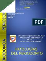 Clase de Patologías Del Periodonto