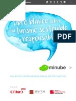 Minubelibro Blanco Turismo Sostenible