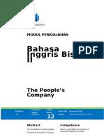 Bahasa Inggris Bisnis II - Module 12