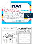 2017 May Catholic Kids Bulletin