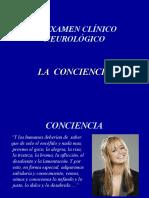 Neurología - La Conciencia