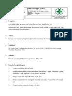 8.1.1.1. SOP Pemeriksaan Feses Lengkap