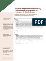 v4 Avaliacao Comparativa Do Laser de CO2 Fracionado e Da Dermoabrasao No Tratamento de Cicatriz de Acne