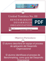 Benchmarking y Desarrollo Organizacional