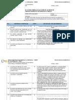 Ficha de Cotejo (1), Etica y Ciudadania