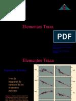 Elementos Traza + Isotopos