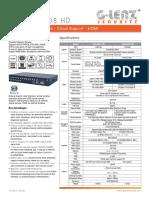 Truvision-Resumen | Digital Video Recorder | Video