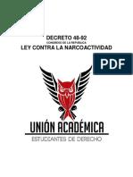 Decreto 48-92 Ley contra la Narcoactividad.pdf
