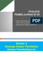 Modul 1 Evaluasi Pembelajaran Di SD