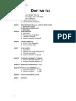 Daftar Isi Mini Proyek
