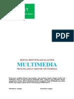 Skema Multimedia Klaster Pengolahaan Obyek Multimedia